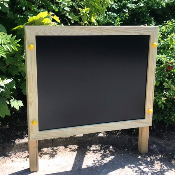 Double Sided Chalk Board - Free Standing